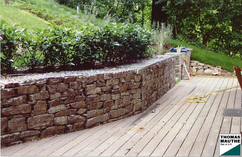 Gabionen Garten mit genial design für ihr haus design ideen